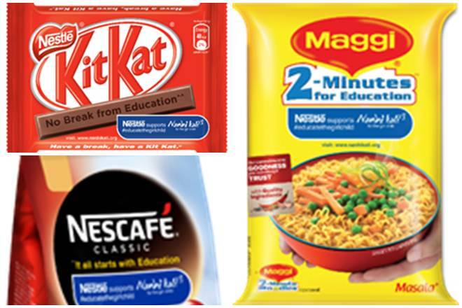 Nestle India: Maggi, Nescafe and Kitkat tag lines will now promote