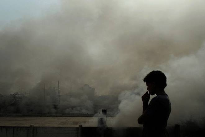 Nearly 60 per cent of pollution in Delhi caused by fine particulate matter (PM 2.5) originates from outside, with the neighbouring states of Haryana and Uttar Pradesh being major contributors to it, a new study on city's air quality has said. (Reuters)