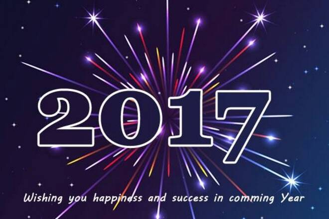 Happy New Year 2017 Messages for Whatsapp, Facebook and SMS
