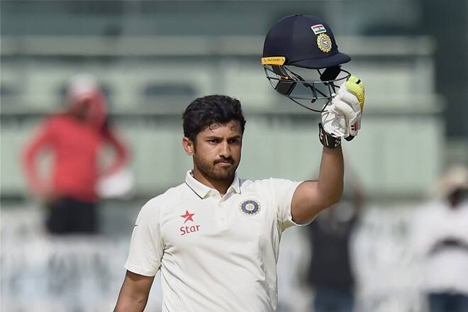 Karun Nair 300 runs: He has become the second player to touch this score after legendary cricketer Virender Sehwag who made this record 12 years and 8 months ago against Pakistan in Multan. (PTI)