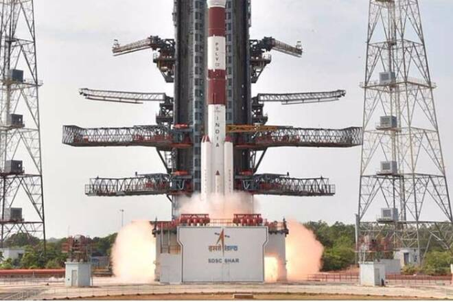 ISRO Sets World Record With 104 Satellite Rocket Launch