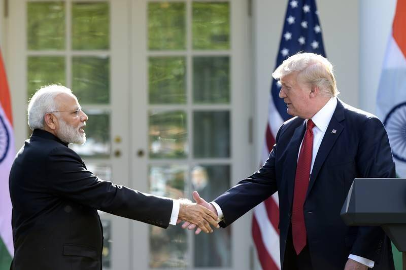 PM Narendra Modi, Donald Trump, PM Narendra Modi Donald Trump meeting live updates, white house, modi trump dinner, modi trump joint statement, modi speech, H1B visa, potus, modi trump press conference, modi trump meet, india us meet, indian delegation, indo-us ties