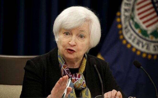 Fed's Yellen: Inflation Decline Driven By One-Off Factors