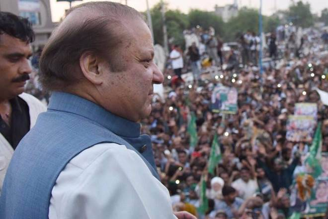 Nawaz Sharif embarks on a roadshow from Islamabad to Lahore