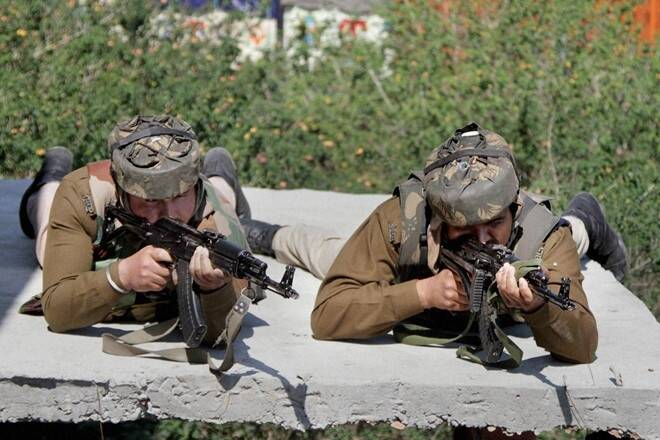 Three militants killed in Indian-controlled Kashmir gunfight