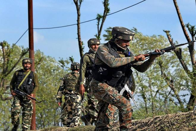 Kulgam encounter, Kulgam, Kulgam terrorist gunned down, Ishfaq Padder, Ishfaq Padder gunned down, Ishfaq Padder killed, Ishfaq Padder shot down, umar fayaz, let terrorist killed, let terrorist gunned down, jammu and kashmir, kashmir, india news, latest news