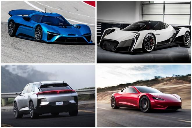 Top 5 Fastest Electric Cars In The World One Makes 1888 Hp Does 0 100 Km H An Eye Popping 1 8 Seconds