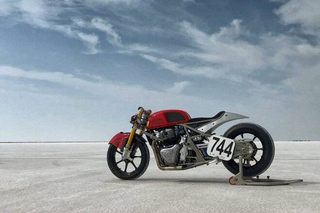 Royal Enfield Continental GT 650 has been customised for its speed run in October.