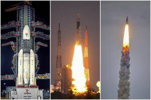ISRO adds jewel to India's crown! See images of Chandrayaan 2 launch