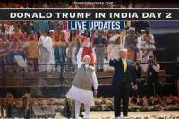 LIVE: Donald Trump, Melania in Delhi today; defence deals, trade talks lined up with PM Modi