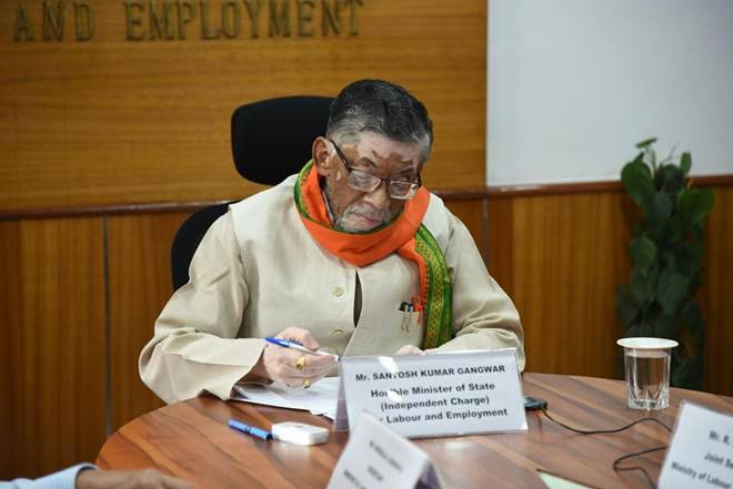In a webinar with Union labour minister Santosh Kumar Gangwar on Friday, employers flagged the need for raising daily working hours to 12 hours from 8 hours. (Twitter image/ file)
